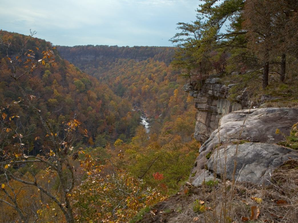 Hike through spectacular fall colors.