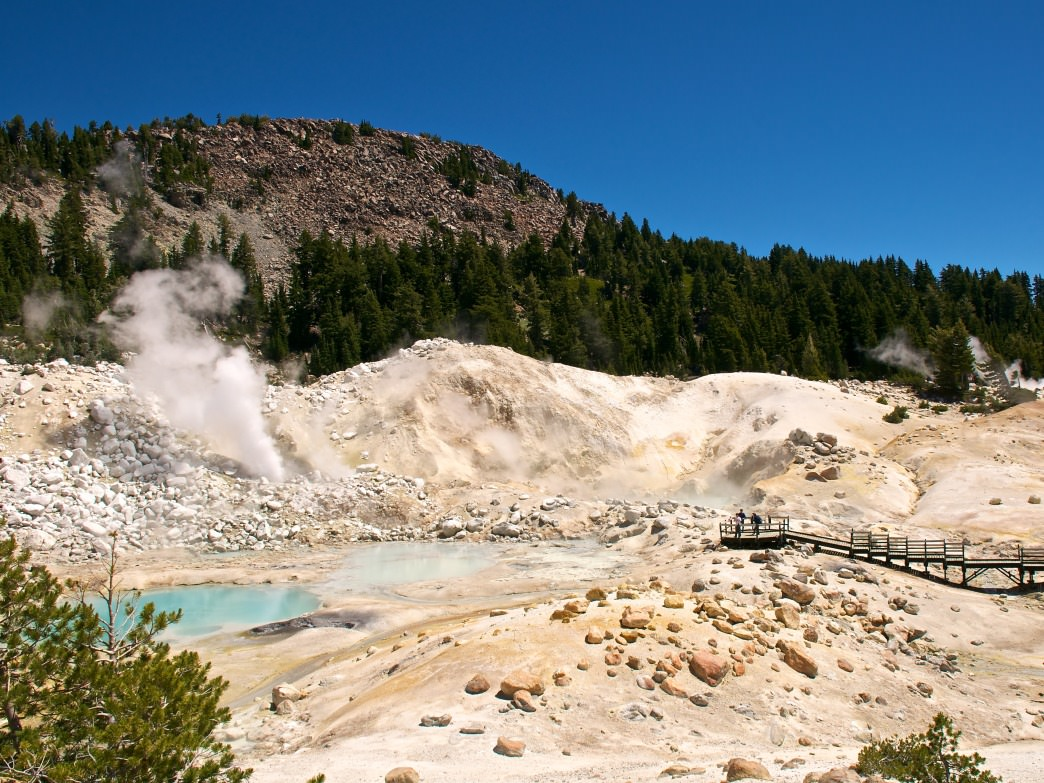 The park is bubbling with geothermal wonders.
