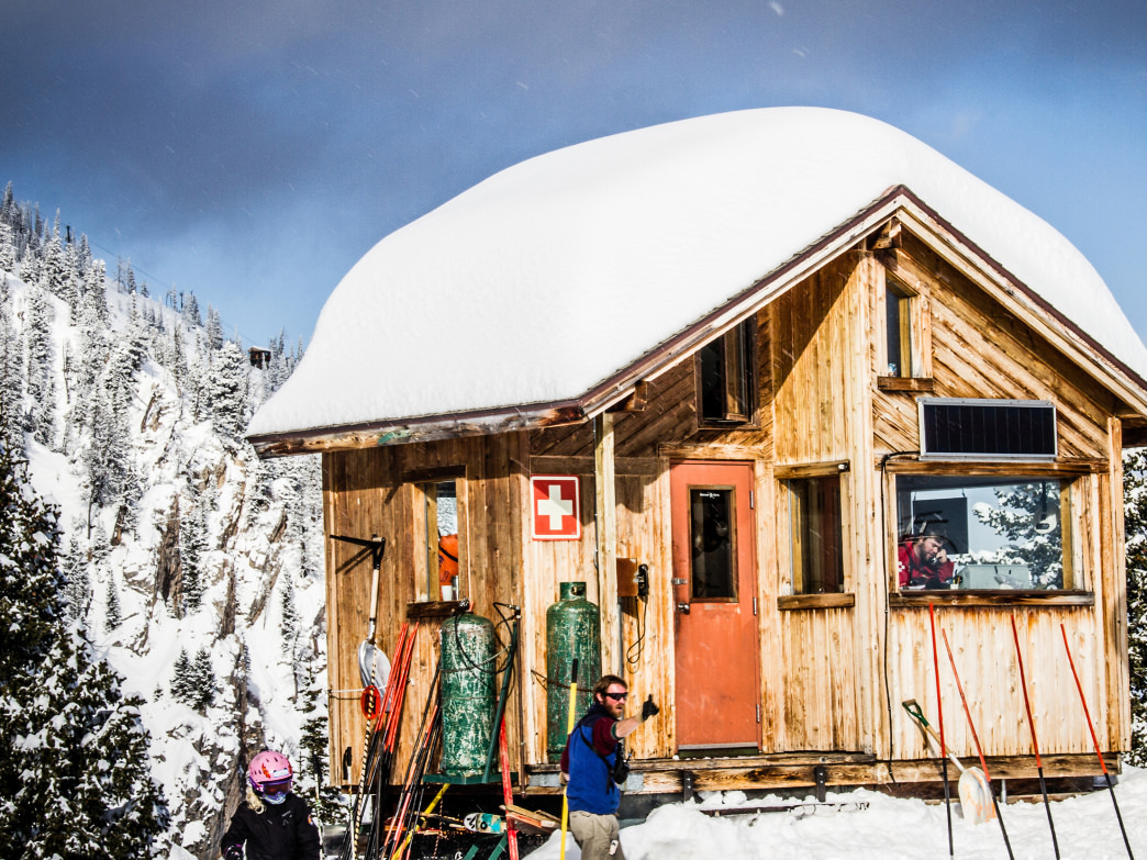 Wintertime in Bozeman is a wonderland with two world-class ski resorts.