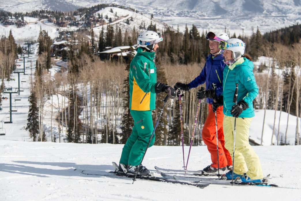 Book ski lessons early to get your favorite instructor.