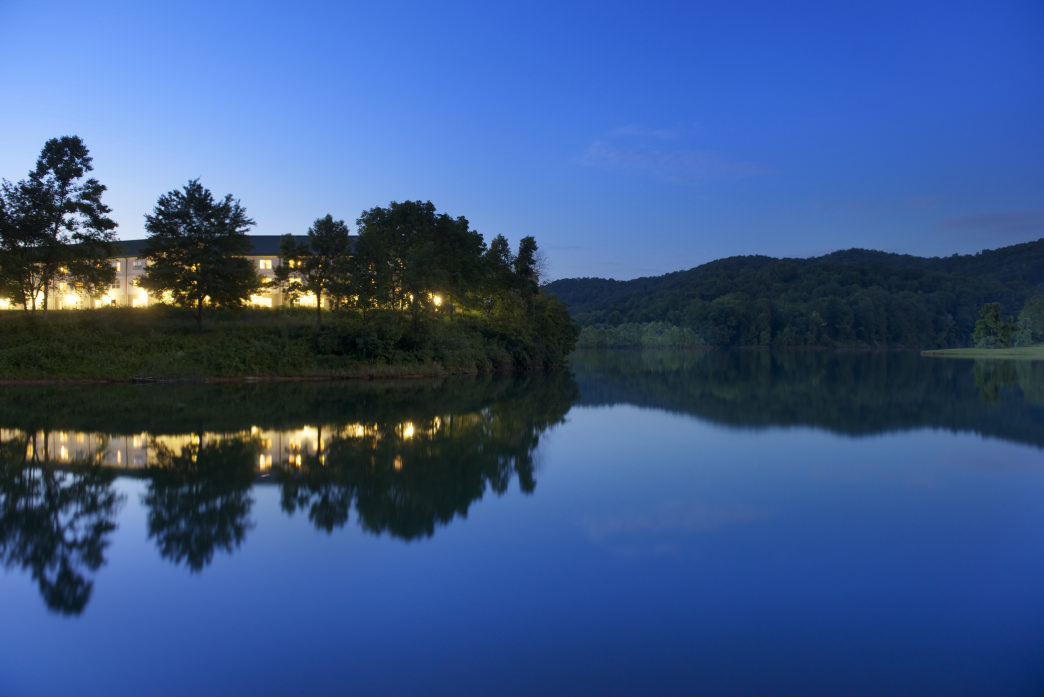 Stonewall Resort is beautiful day or night.     Chris Audia