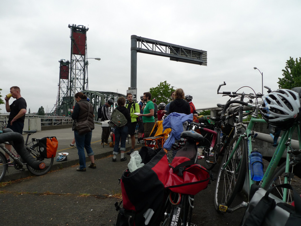 Breakfast on the Bridge is a longtime tradition in Portland.
