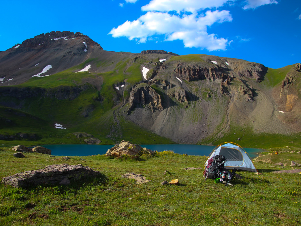 Camping away from the shores of Ice Lake is just one of the many ways you can protect this gorgeous, yet fragile area.