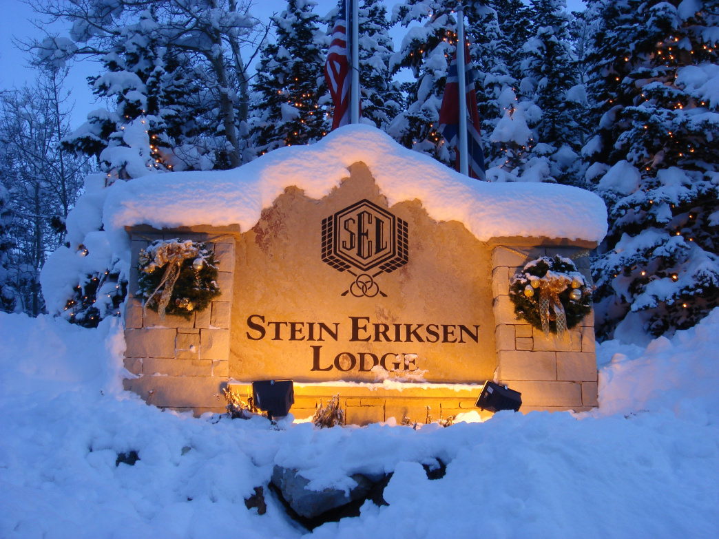 The Spa at Stein Eriksen Lodge is considered one of the best in the state.