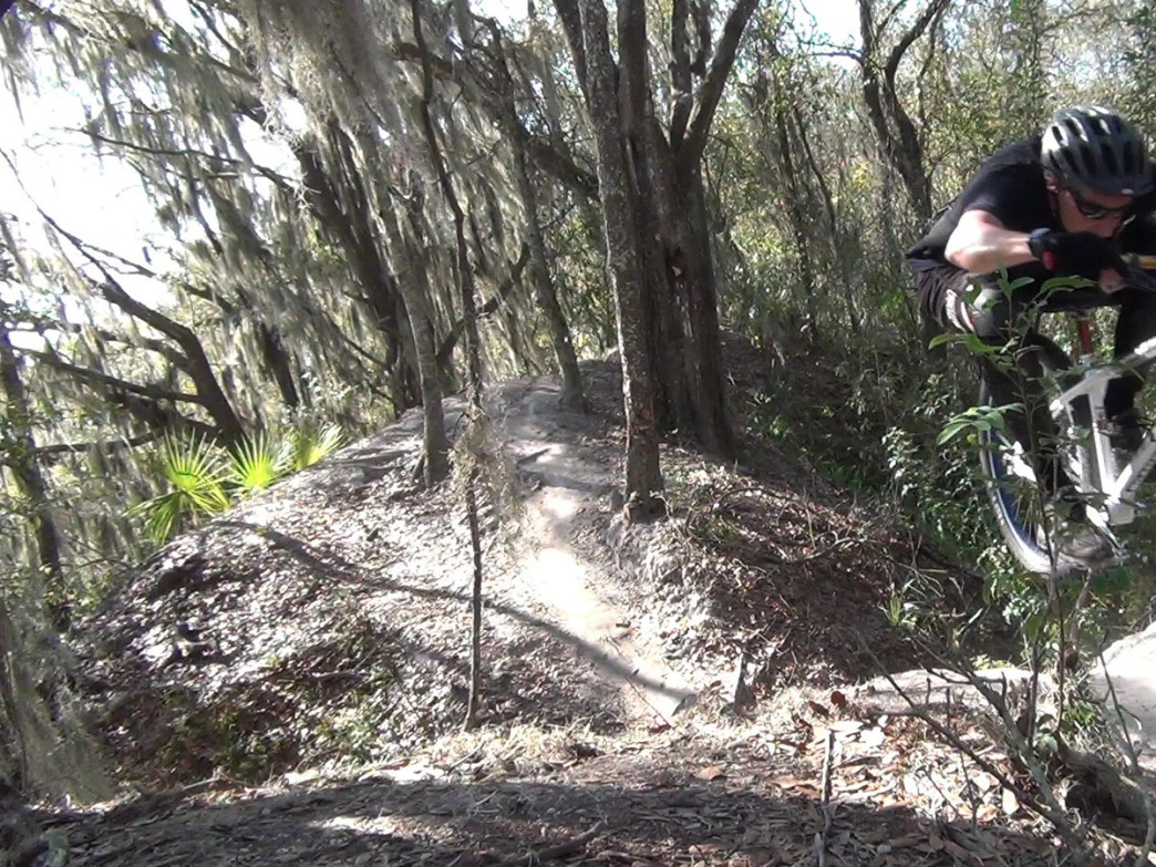 Mountain biking at Alafia River State Park