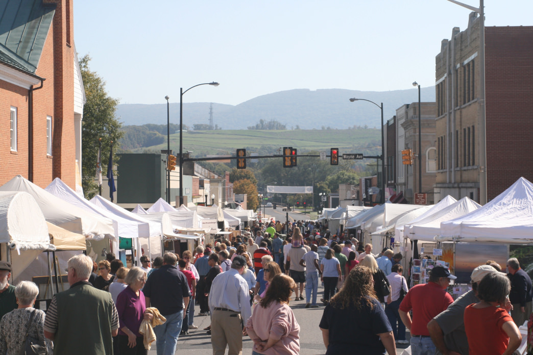 The Fall Foliage Art Show in Waynesboro is one of the popular events that bring people to town.