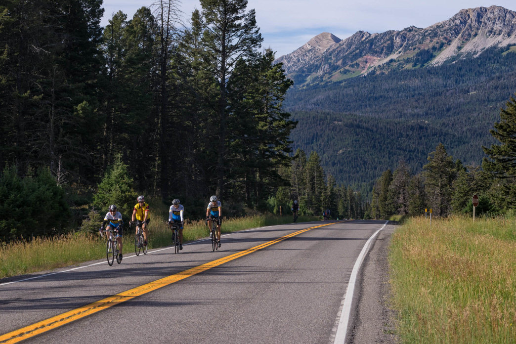 Taking time to explore the different areas you ride through is just as important as the ride itself.     Rick Smith Media for Cycle Greater Yellowstone
