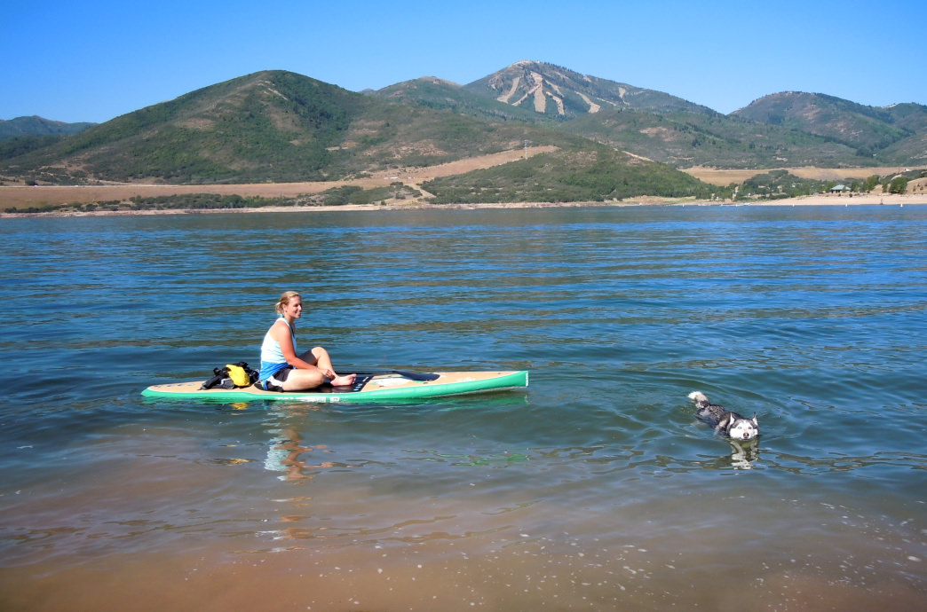 Swim, paddle, and play at the Jordanelle Reservoir.