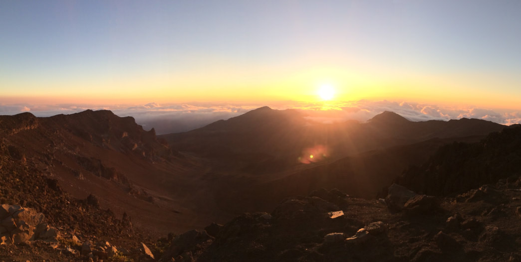 Haleakalā National Park is a popular spot to catch an island sunrise.