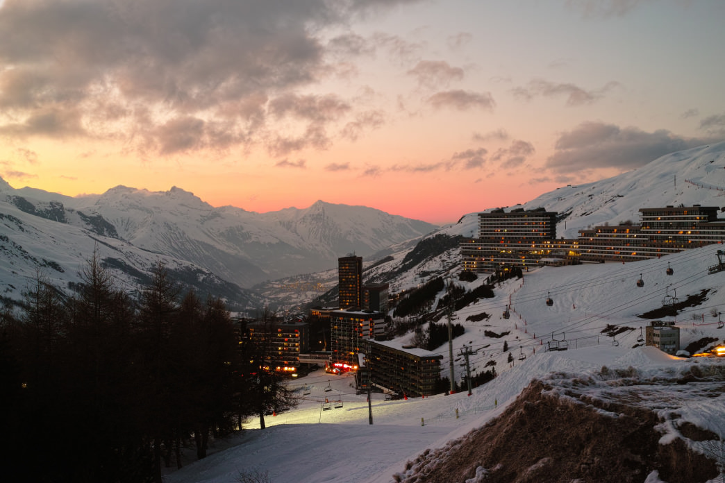 The lift tickets at resorts like Les Menuires are often half the cost of its U.S. counterparts.