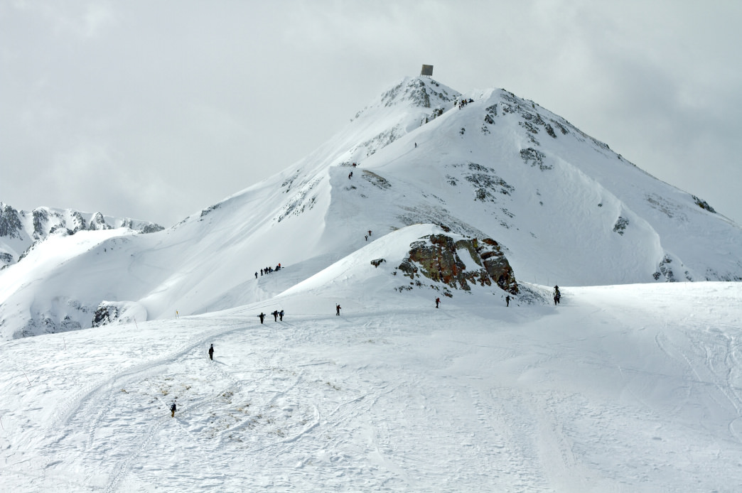 The scenic terrain at Silverton Mountain is unreal.