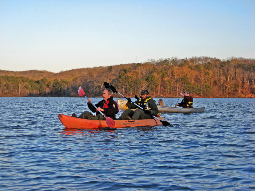 Rangers Lead the Twilight Paddle