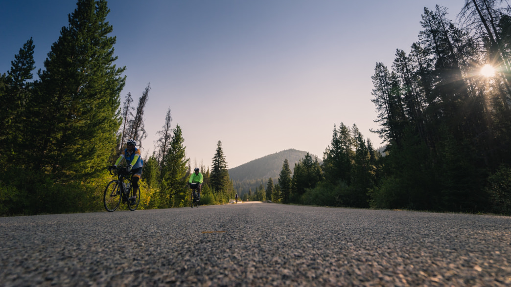 Pedal into your last night of camp with your new crew full of fun and memories.     Rick Smith Media for Cycle Greater Yellowstone