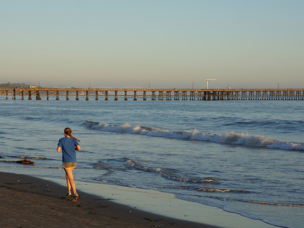 It's tough to beat a run on the beach in Santa Barbara, but it's just one of many options for runners.