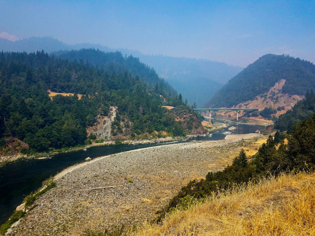 The 263-mile long Klamath River picks up steam and rumbles and tumbles through the Klamath Mountains in northern California. Highway 96, the Bigfoot Scenic Highway, makes for an excellent road trip with stunning scenery and plenty of river access points.      Dylan Jones
