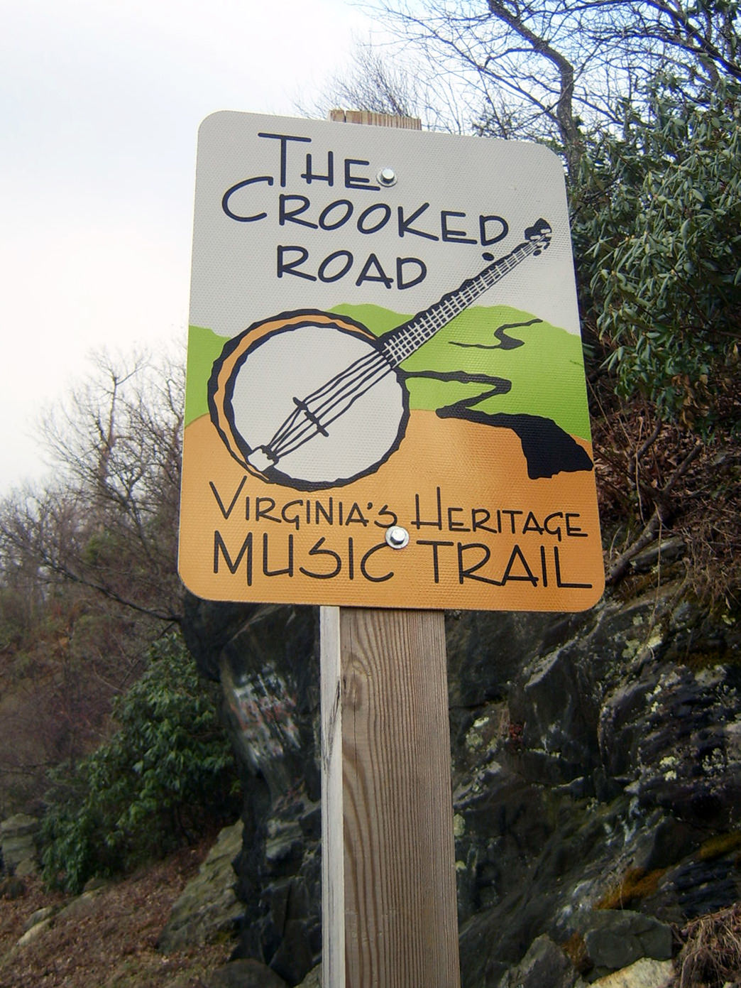 The Crooked Road Music Trail is a 330-mile driving route connecting local artists, exhibits, and performing venues.