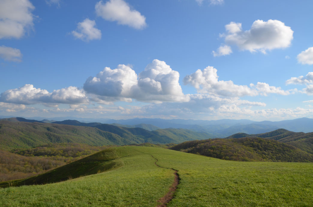Max Patch is one of the most popular spots along the entire trail.     Jake Wheeler