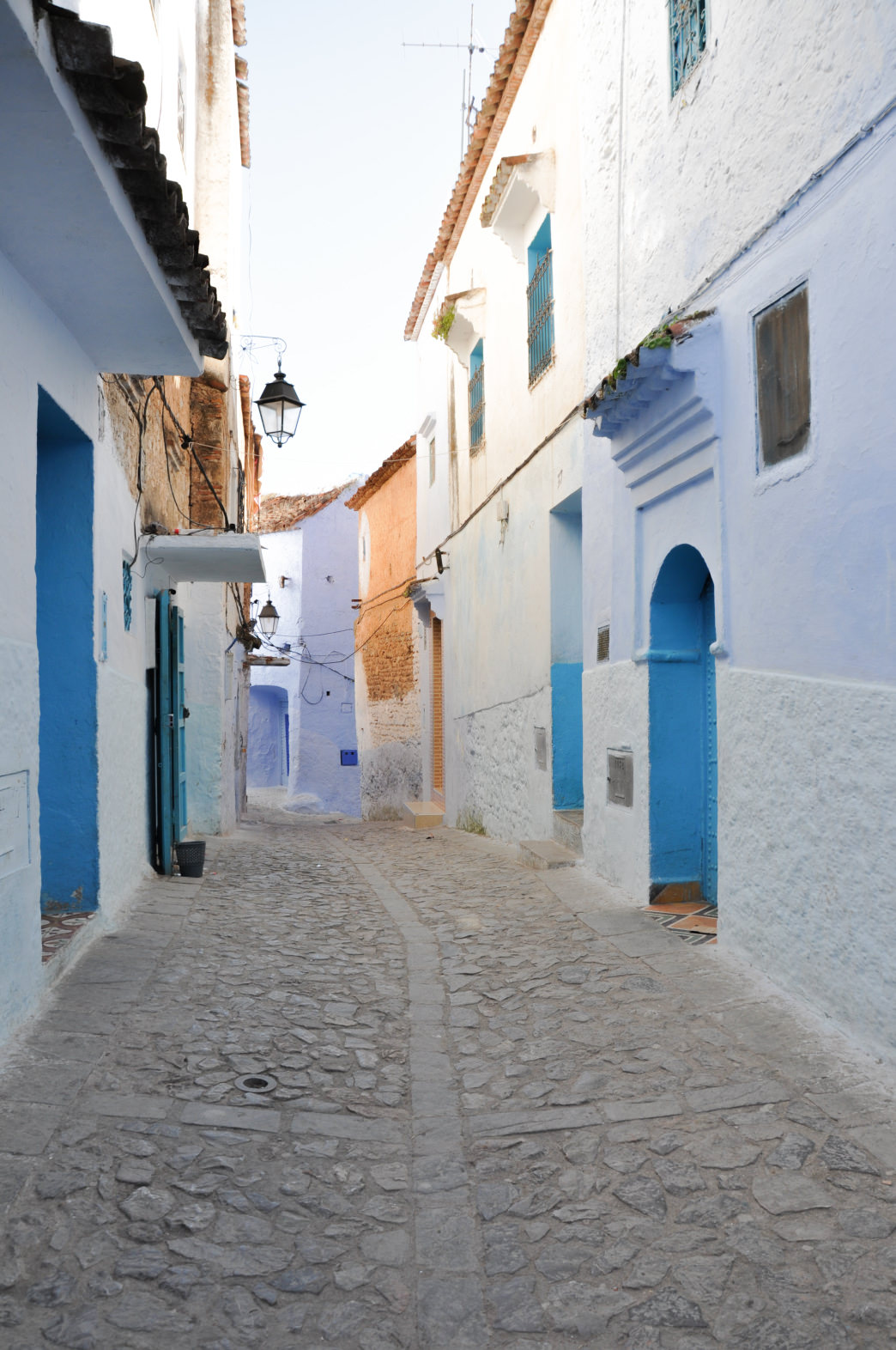 Morocco's cities have complex city centers called medinas, which can be fascinating to explore.     Julia Rogers