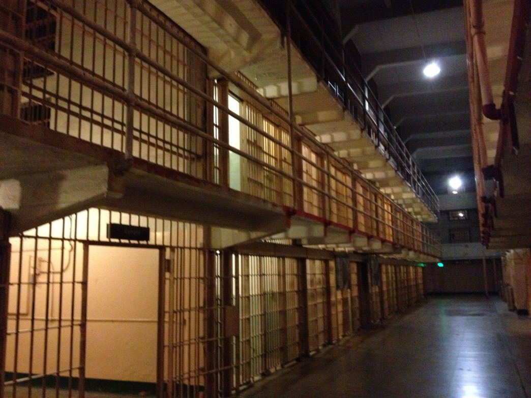 You probably won't sleep tight for a while after visiting Alcatraz at night.