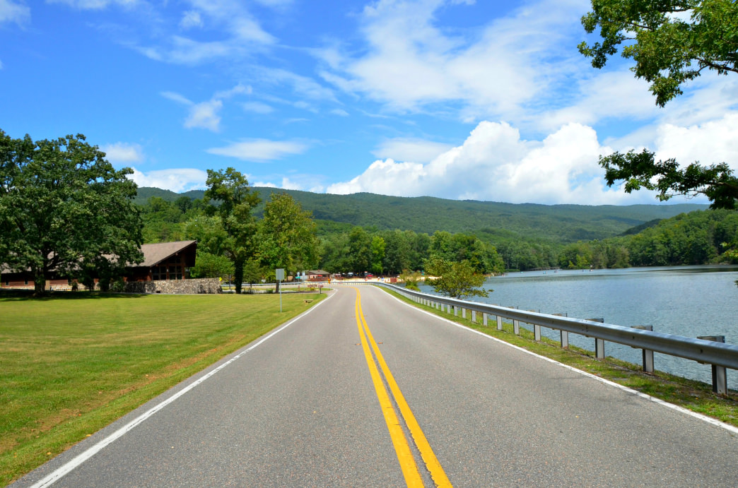 The Back of the Dragon route between Marion and Tazewell is one of the area's most scenic drives.