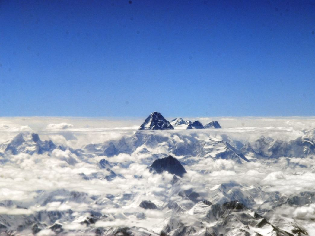 K2 is the world's second-highest mountain.
