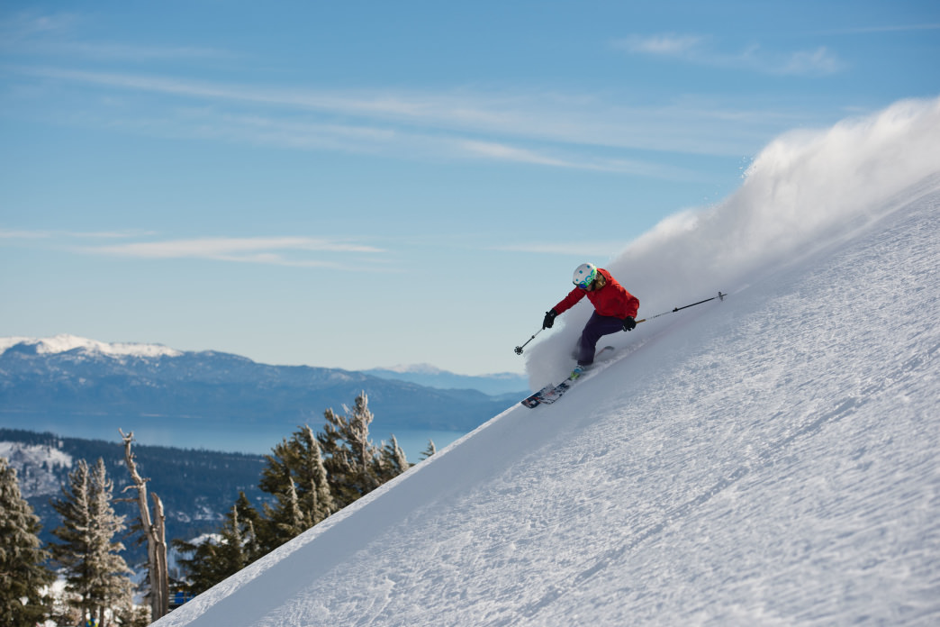 Squaw is beloved for its wide-open runs.
