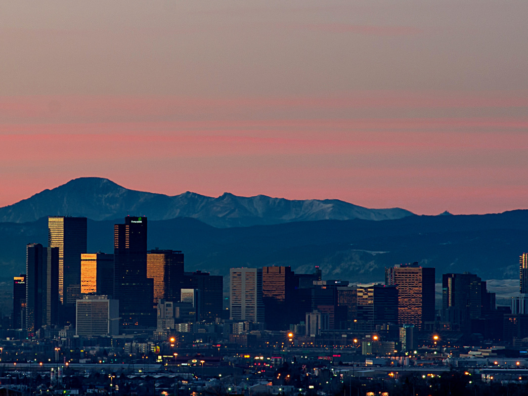 Forbes ranked Colorado #5 among best states for doing business.