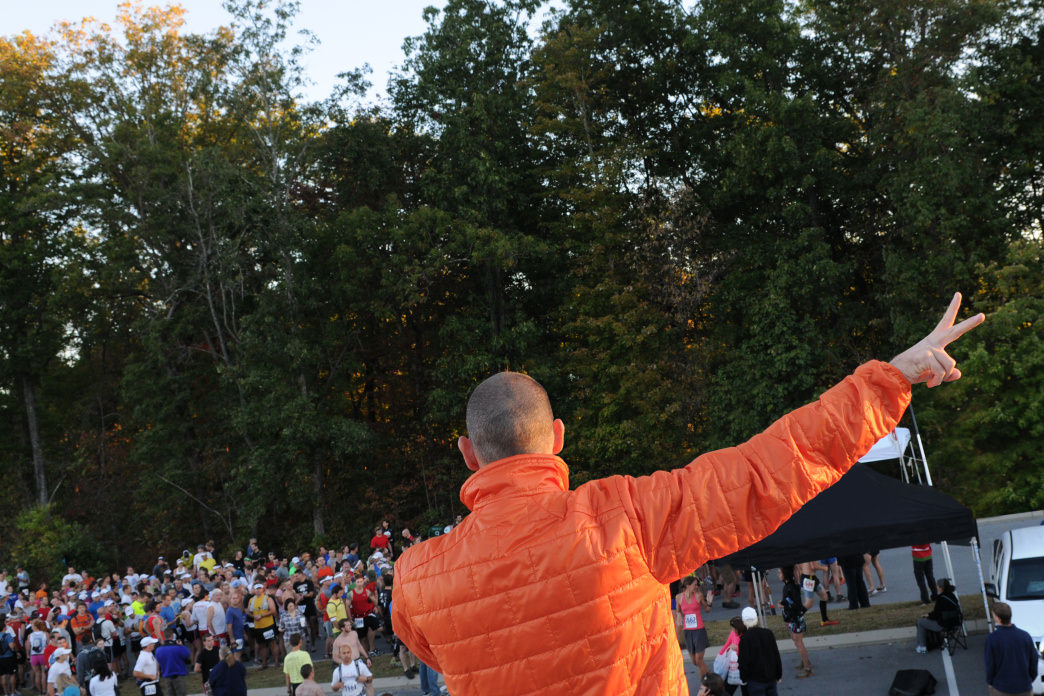 Race day can be chaotic, but practicing mindfulness can help tame the nerves.