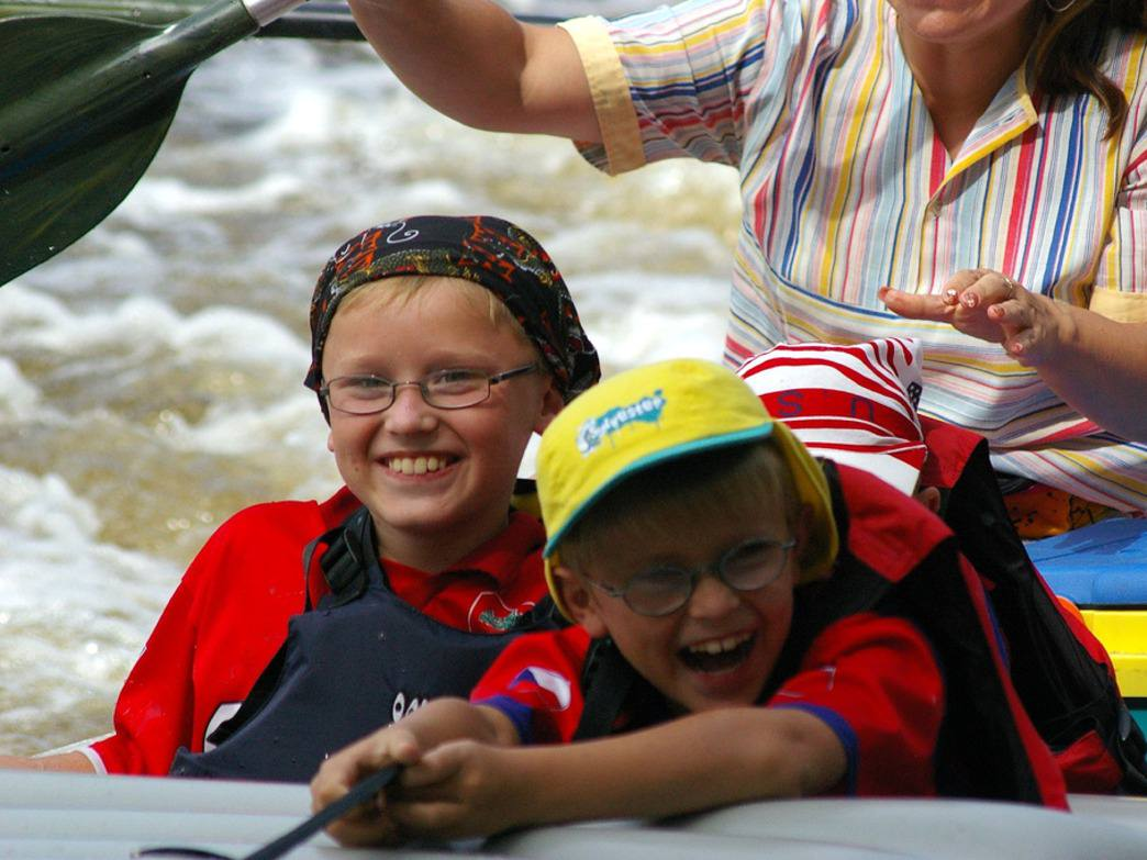 The Nantahala Outdoors Center is the longest continually operated outfitter on the French Broad River.