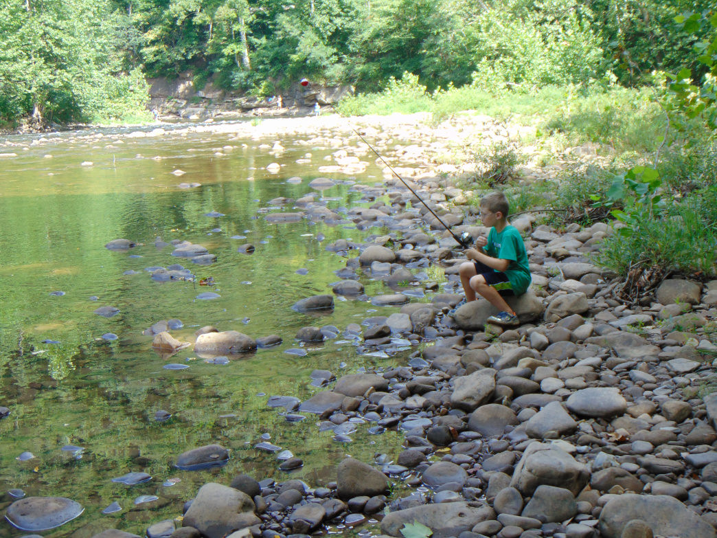 The Powers family loves West Virginia because of all the outdoor activities they can do.     JoLynn Powers