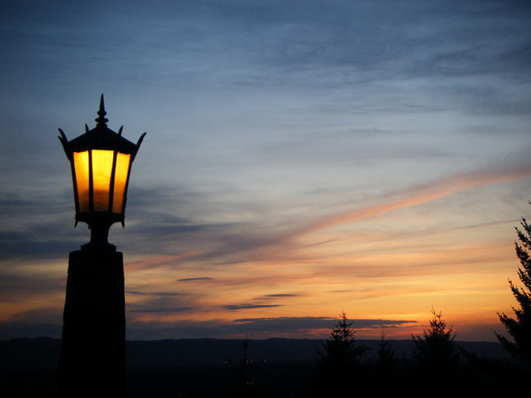 Rocky Butte is one of the most scenic places in Portland to catch a sunset.