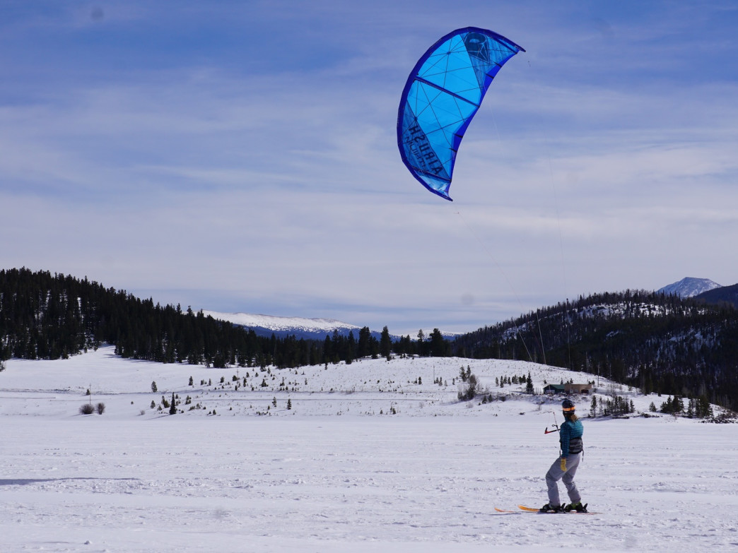 Anyone with kiteboarding experience will be able to nail snowkiting on their first day.