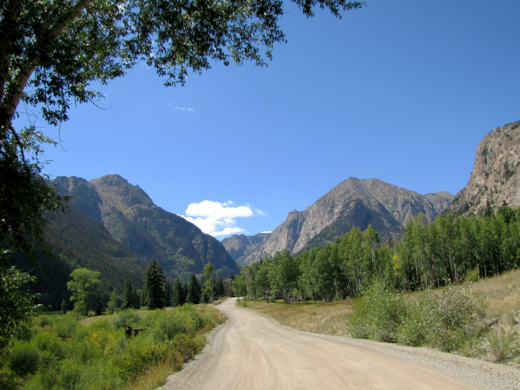 Animas Mountain, Cinnamon Pass, Colorado.