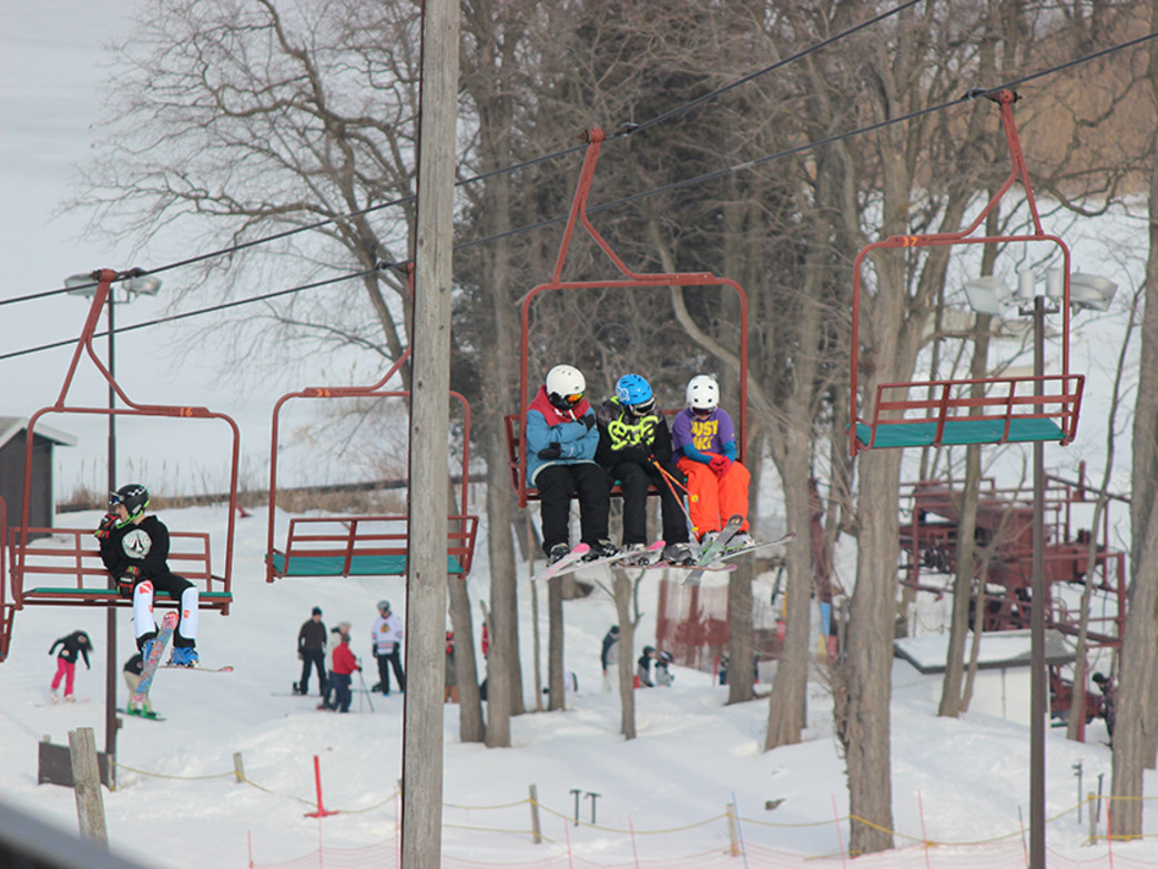 Wilmot Mountain is only 65 miles from downtown Chicago and features 25 runs accessible by eight chairlifts.