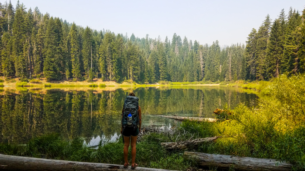 Located just 20 miles northwest of Happy Camp, Kelly Lake is the most accessible mountain lake in the Siskiyou Wilderness.      Dylan Jones
