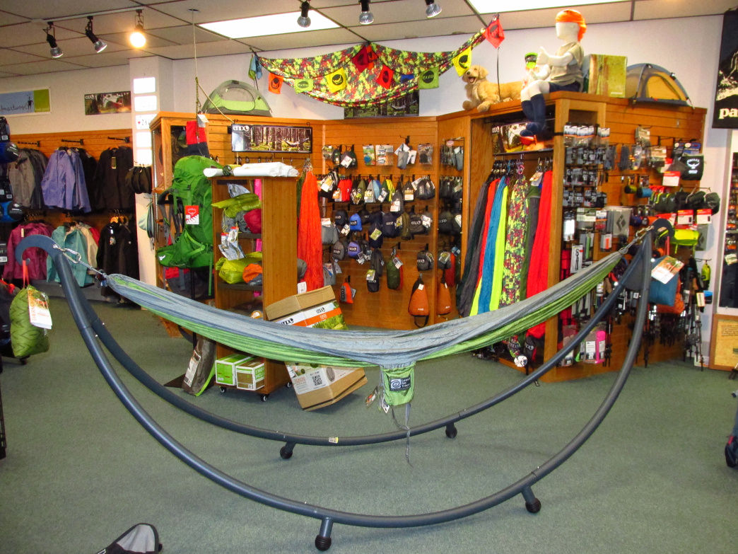 Wild River Outfitters carries a wide range of outdoor products.