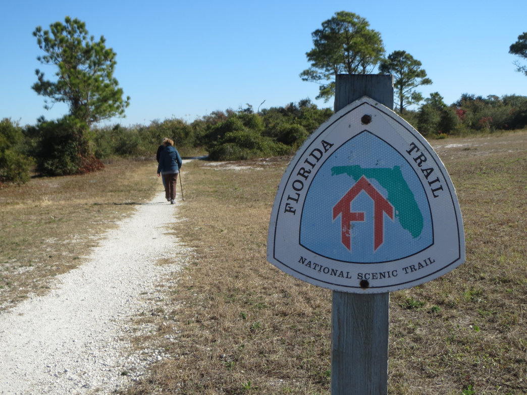 A section of the Florida Trail makes a great hike to historic Fort Pickens in Pensacola.