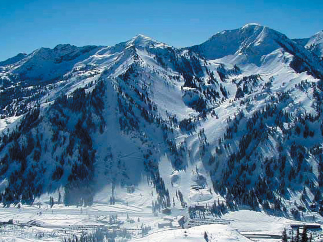 canyons resort - skiing & snowboarding