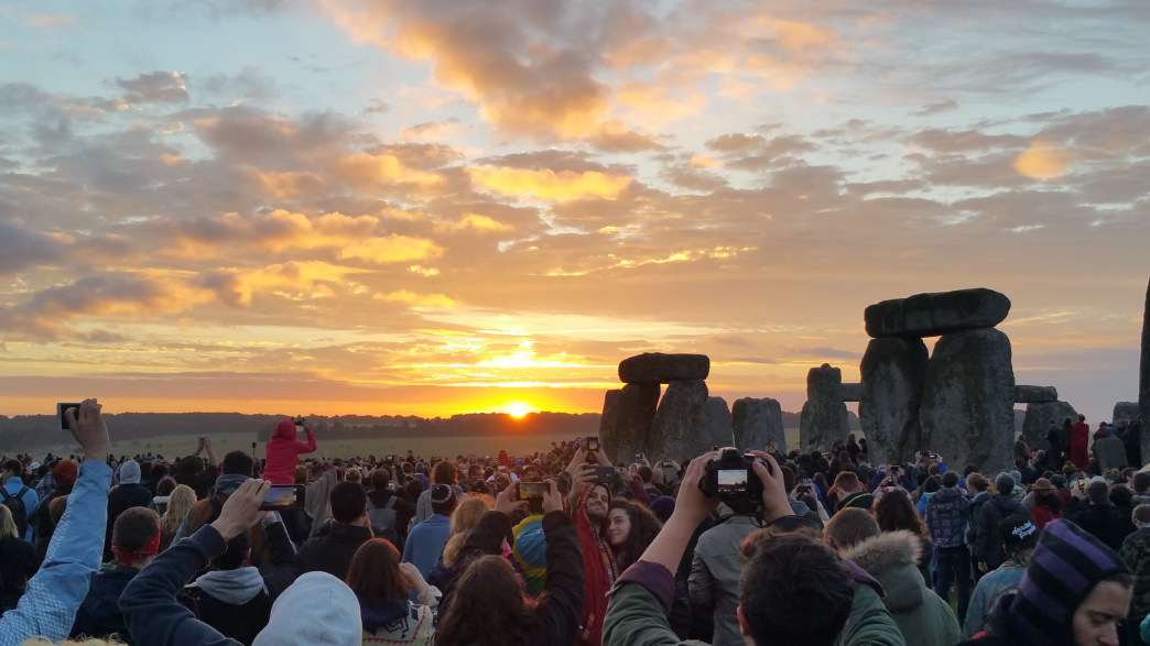 For thousands of years, people have been celebrating the summer solstice at Stonehenge.