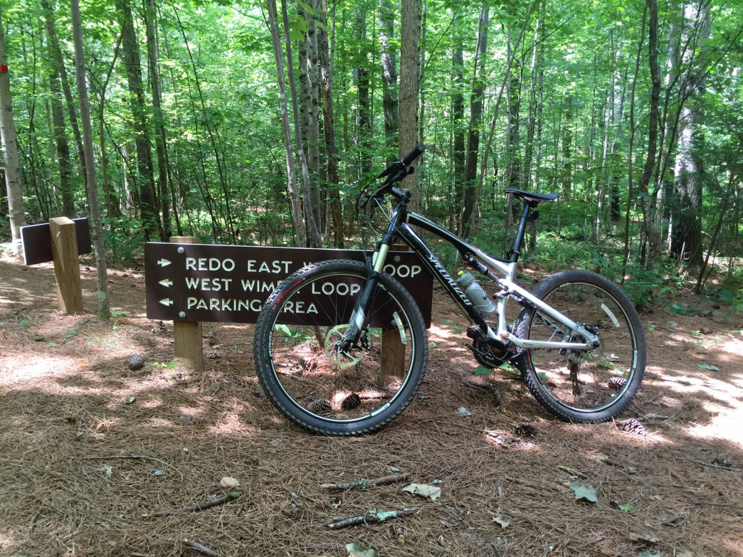 Mountain Biking around North Carolina's Lake James State Park