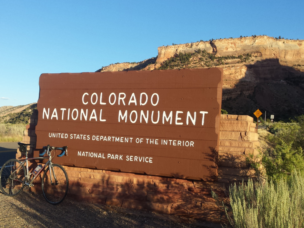 Riding through the Colorado National Monument is an otherworldly experience on two wheels.