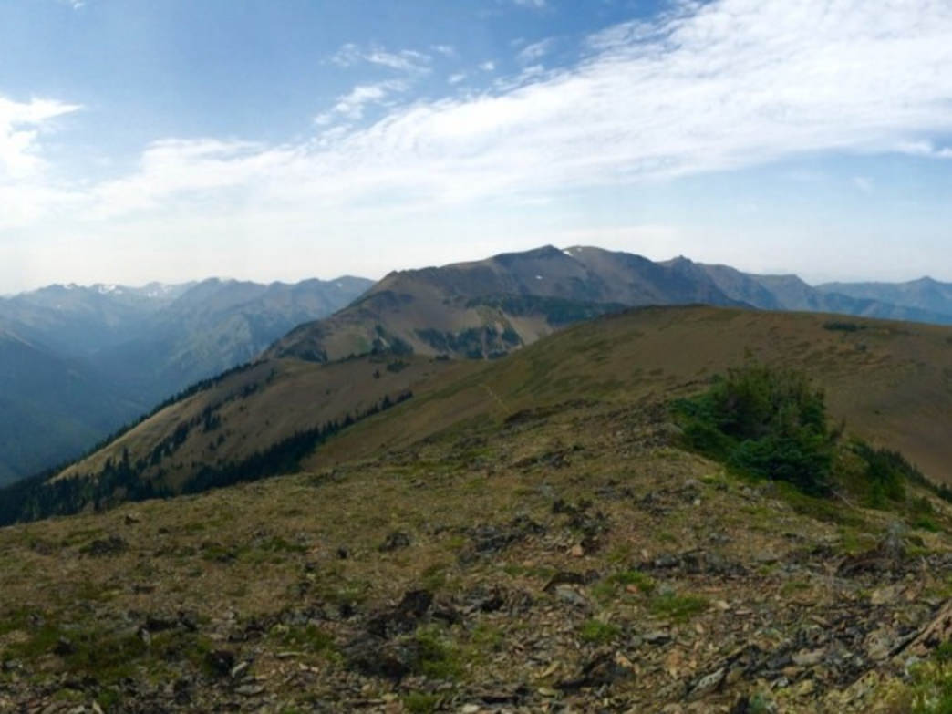 Hiking the less frequently visited regions of Olympic National Park.