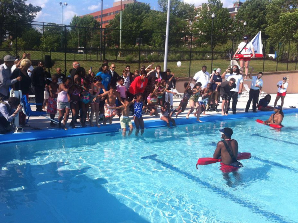 Marie Reed Community Center free pool in Adam's Morgan marks the start of the 2015 summer