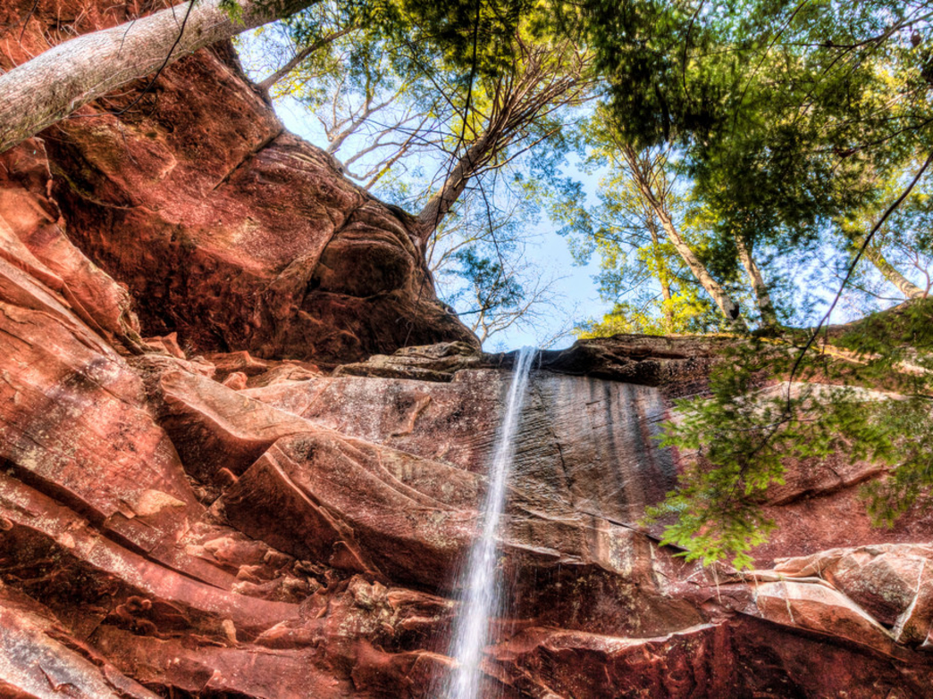 Waterfall seekers will find plenty of inspiration in Bankhead National Forest.