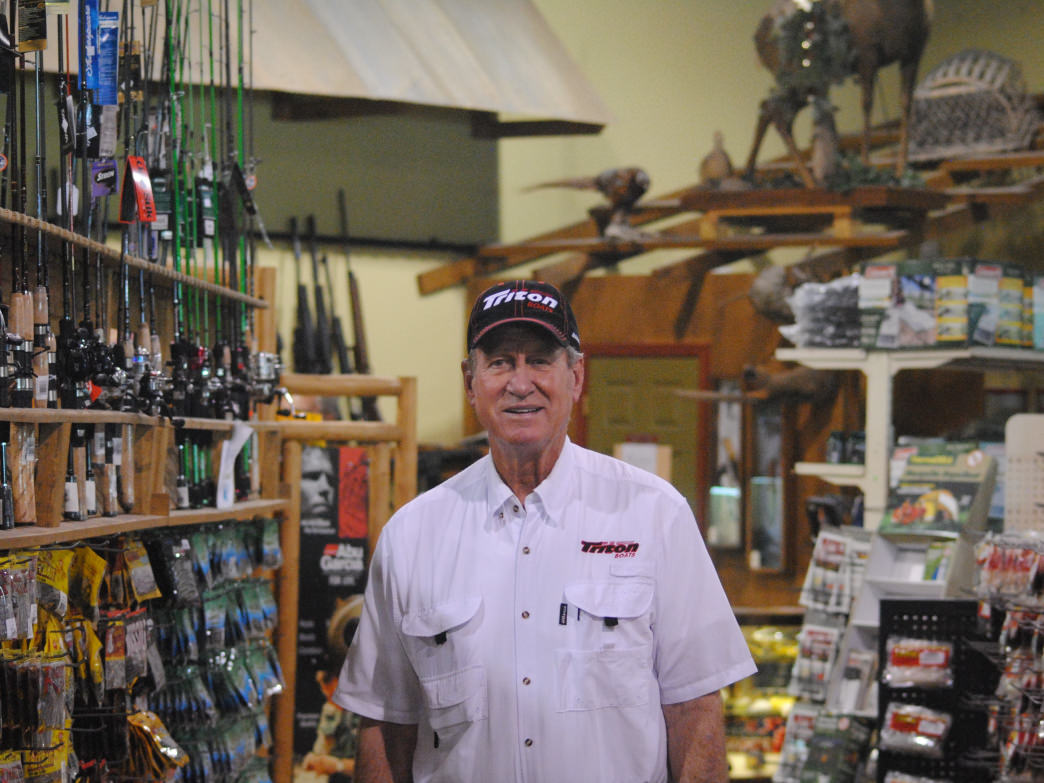 When he's not at a tournament, Hall of Fame Bass Fisherman Guy Eaker is sharing his vast fishing experience at The Great Outdoors