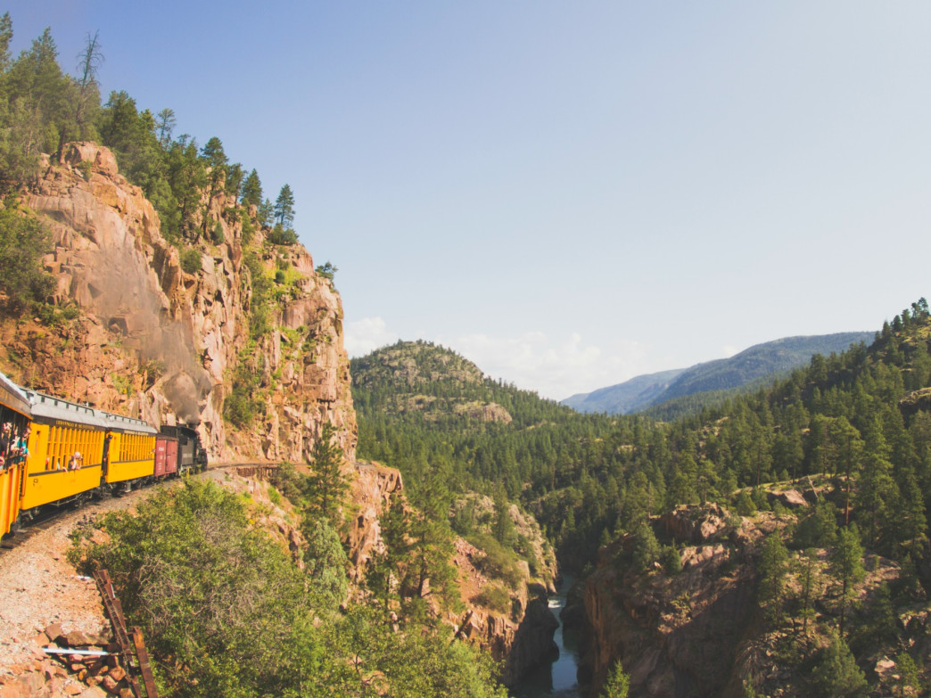 All aboard the train to Chicago Basin.