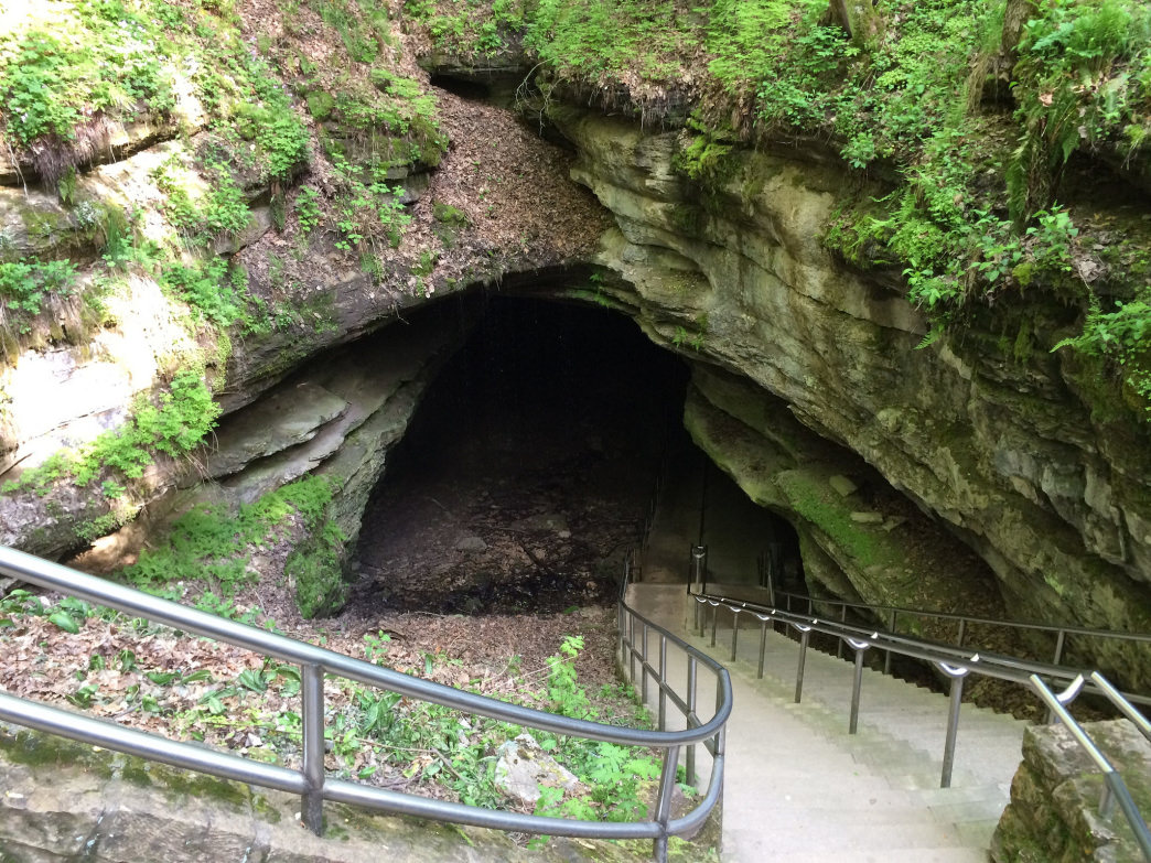 When first entering Mammoth Cave, it's difficult to comprehend how far this subterranean world extends.