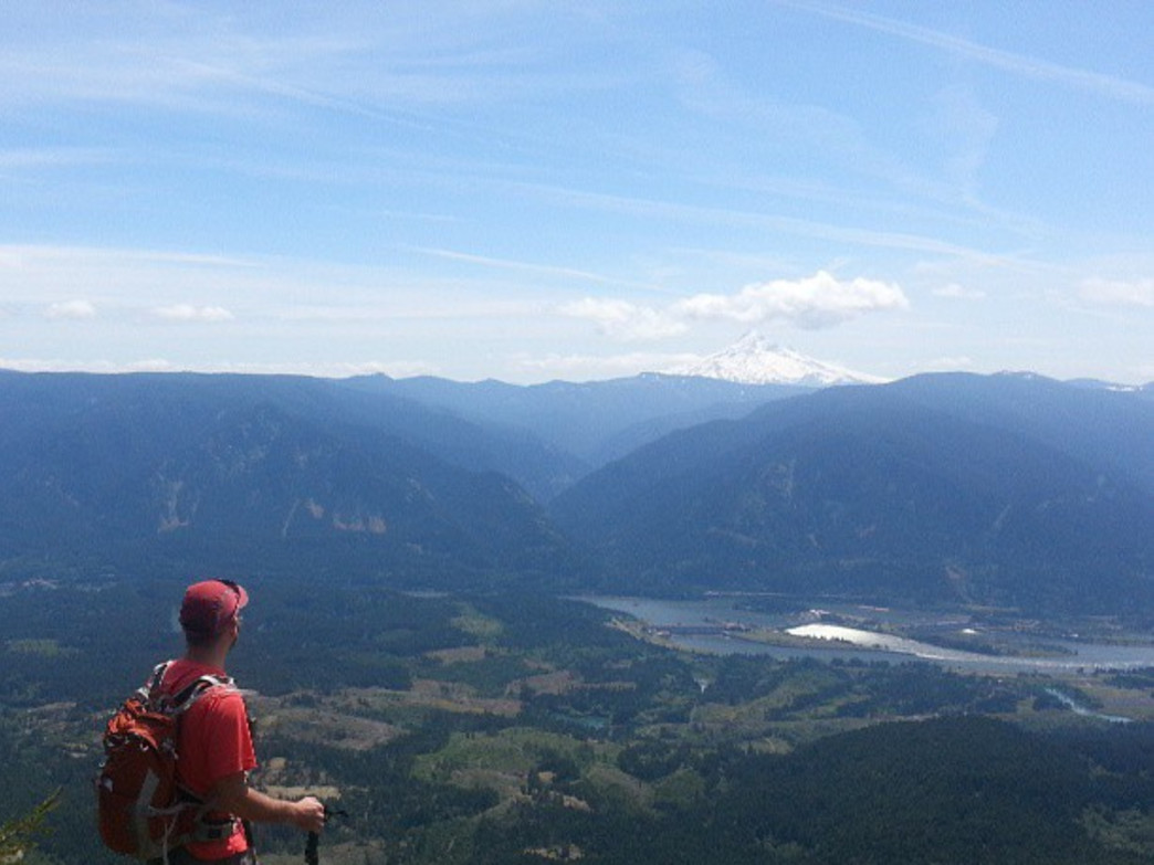 The summit of Table Mountain offers some of the most impressive views in the entire Columbia River Gorge.
