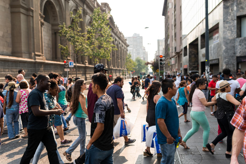 Home to nearly 40 percent of Chile's total population, it's no surprise that there's a constant bustle in Santiago.