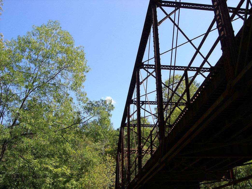 The Nemo Bridge is the official start of the Obed River's Wild and Scenic designation.